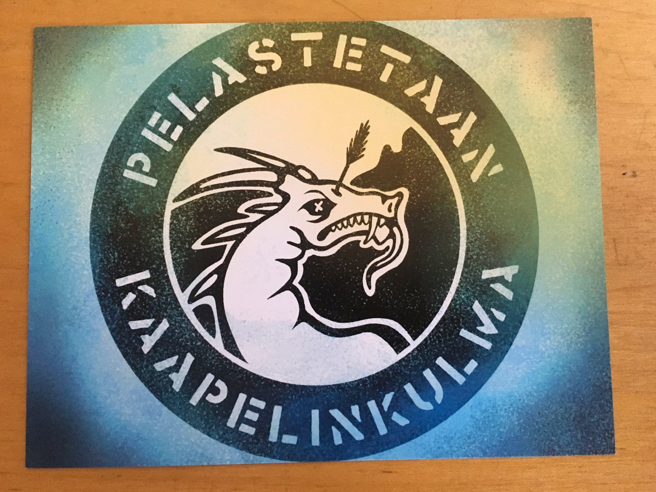 Postikortti – Logo – 1 kpl